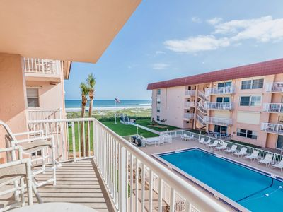 Photo for Spacious luxury right on the beach! Steps to it all and great for the family!