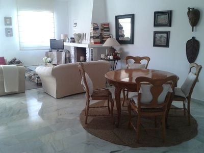 Photo for Beautiful penthouse apartment in Benalmadena Pueblo with WiFi