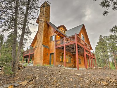 Photo for 'The Miracle' Hartsel Home on 13 acres w/Mtn Views