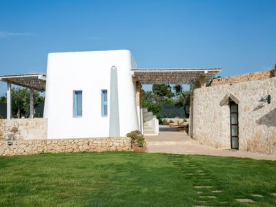 Photo for Vacation home villa trullo indipendente in Racale - 11 persons, 4 bedrooms
