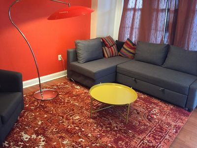Photo for Awesome 2 bedroom apartment in University City PHILADELPHIA