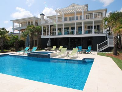 Photo for OCEANFRONT   ISLE BE BACK   POOL   SUMMER KITCHEN