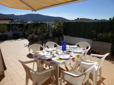 Photo for Bright and sunny penthouse in the Port of Llançà, in the area of San Carlos, 150 meters aw