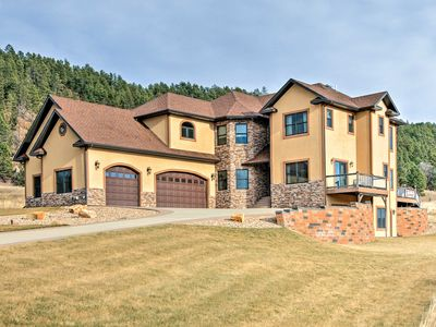 Photo for Great 5BR Deadwood Area Home w/Hot Tub & Game Room