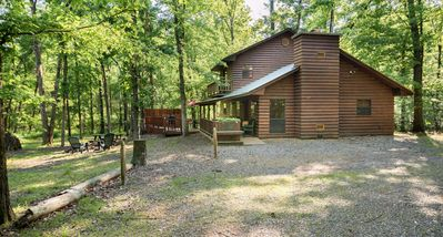 Photo for Shady Nook:  Sleeps 10, 4 Bed/2 Bath, Hot Tub, Wood Burning Fireplace