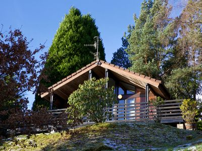 Photo for Enjoy luxury four star accommodation overlooking Loch Tay, Scotland!