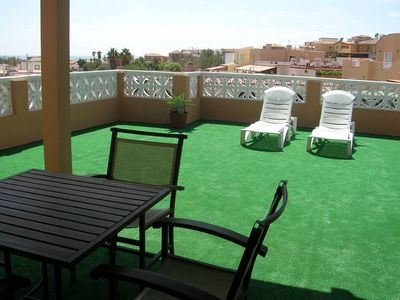 Photo for Fuerteventura apartment with terrace