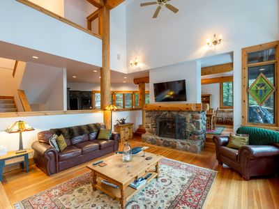 Photo for Gorgeous house with spectacular views of Whistler mountain.