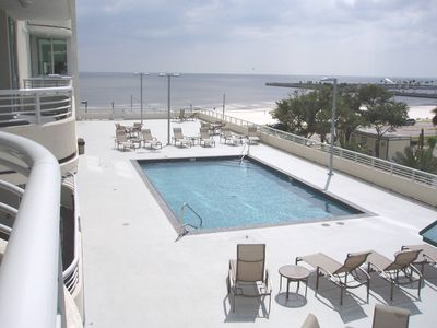 Photo for Beautiful 2 Bed, 2 Bath, Sleeps 6, With Beach Views Close to Entertainment
