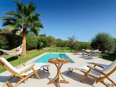 Photo for Fantastic Villa in Pollensa Town with private garden, pool and parking