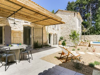 Photo for Very nice old farmhouse completely renovated in charming Provençal village