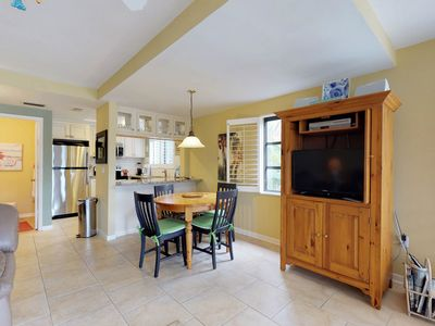 Photo for Charming townhome near the beach with balcony and shared heated pool