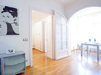 Photo for Nice renovated apartment in the Eixample