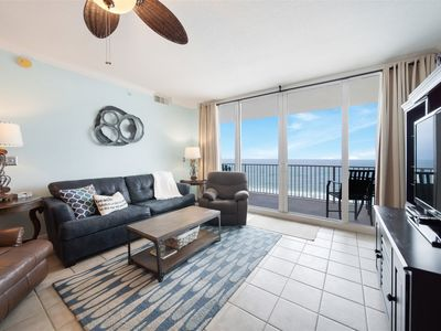 Photo for Beach Front Condo on 7th Floor. Great Views & Rates !
