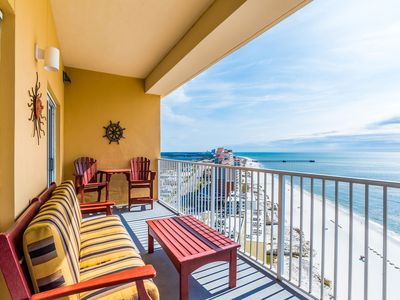 Photo for Gorgeous Condo on the Water! Private Balcony and Great Resort Amenities!