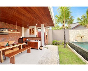 Photo for One Bedroom Suite Villa with a private pool only 5 minutes drive to the beach
