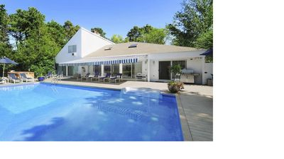 Photo for Perfect Hamptons beach house for one or two families (East Quogue)