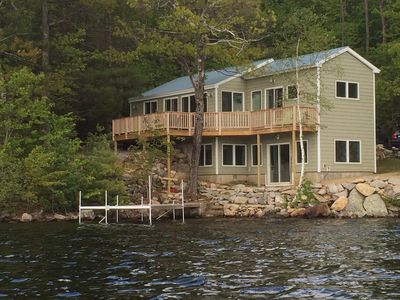 Whole house from the water.