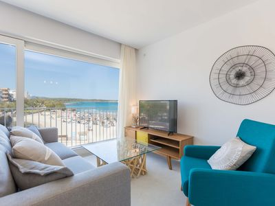 Photo for Ximet Mar - apartment on the beach, air conditioning, internet