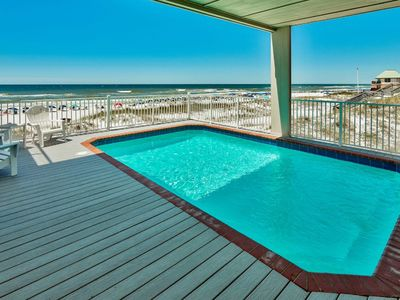Photo for Massive 5 Bedroom Gulf Front Estate, Private Gulf Front Pool, Summer Openings!
