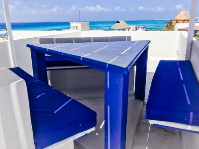 Photo for 3 Luz masters, private pool, 360 ocean views, dish TVs all rooms, immaculate dec