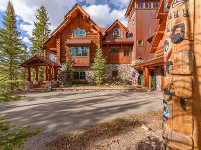 Photo for NEW! Ski-in/Out Luxury Home, Private Hot tub, Pets Considered: Winterfell