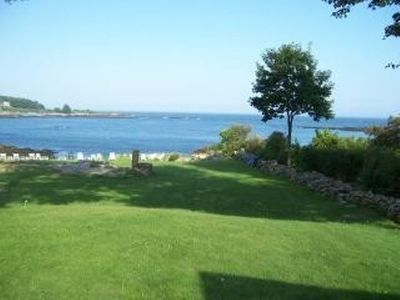 View fromlawn our of Cape Neddick Harbor