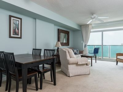Photo for Crescent Keyes -  906 1-bedroom condo overlooking the ever-changing ocean.