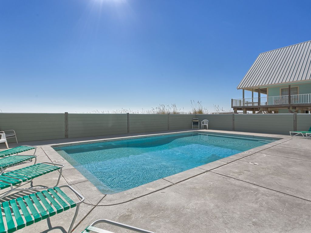 Fort Morgan Beach Front House For Rent