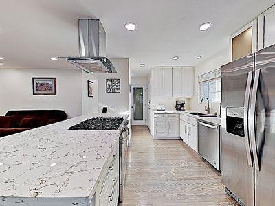 Kitchen - Welcome to Orange! This home is professionally managed by TurnKey Vacation Rentals.