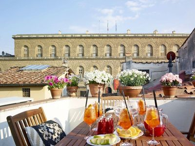 Photo for Best Location EVER w/Terrace View to Pitti Palace