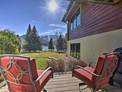 Photo for Lakefront Condo-Near Skiing at Vail & Beaver Creek