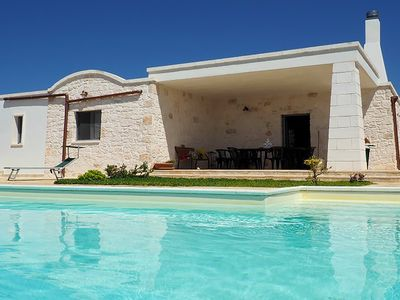 Photo for Villa del Sud is a nice villa in Apulia with swimming pool and air conditioning, 3 bedrooms host up