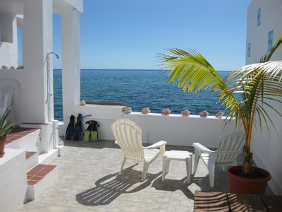 Photo for Paradise Found - Two Bedroom/Two Bath Oceanfront Townhouse