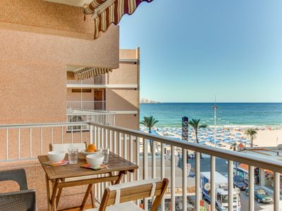 Photo for Apartamento Los Ranchos, Oceanfront, walk to the Beach