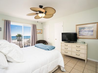 Photo for Beachfront two bedroom Condo (affordable beach view) Winter monthly low rates!