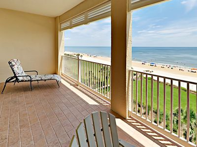 Photo for Luxe 3BR Beachfront Condo - Enjoy Ocean Views, 2 Pools, Splash Area & Hot Tub