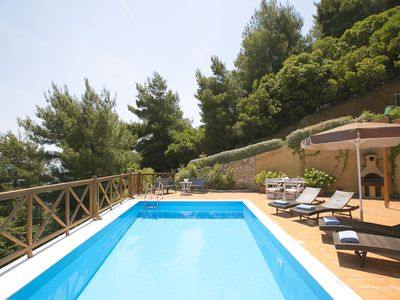 Photo for EUROPA.2BR Luxurious villa Europa with stunning sea views and  private pool