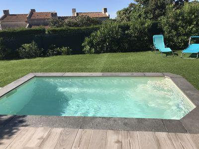 Photo for villa in residence with swimming pool