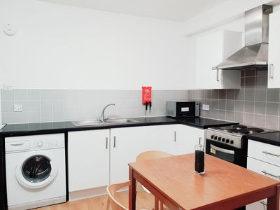 Photo for 1 Bedroom Flat Open Kitchen