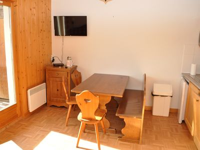 Photo for Apart 4-6 people saint sorlin d'arves, field of sybelles handicapped access
