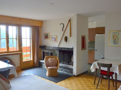 Photo for Outside : 3-room flat for 5 persons on the basement floor, balcony -Inside : 90 sqm, separate entran