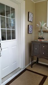 Mudroom/entry to the house.