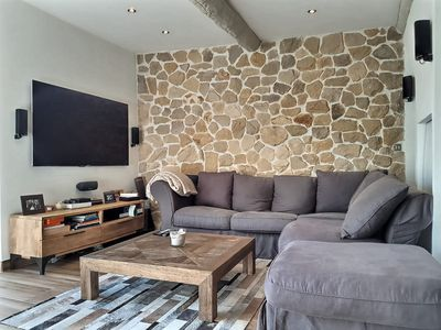 Photo for Superb 3 rooms with garden in the old Antibes