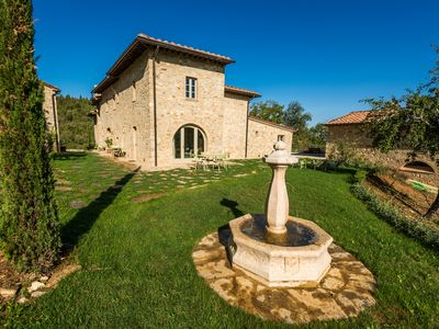 Photo for 2BR apart suitable for PRM beautifully in restored Farm with Pool and Spa