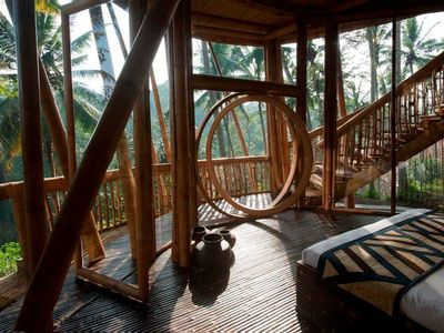 Photo for Unique Bamboo Villa in Ubud, cultural heart of Bali - sleeps 6 guests  in 3 bedrooms