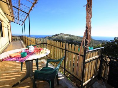 Photo for Poggi (IM) – Beautiful apartment in a Liguria holiday home sea view Italy