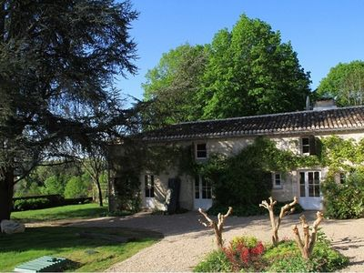 Photo for Luxurious Farmhouse Gite Situated in Quiet and Beautiful Grounds with Vineyard