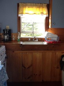 Photo for One bedroom cabin with spectacular views overlooking Flanders Bay - Cabin #9