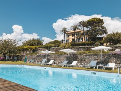 Photo for Luxury Villa between Portofino & Cinque Terre. All comforts available.